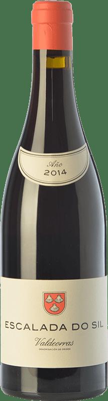 34,95 € Free Shipping | Red wine Vinos del Atlántico Escalada do Sil Crianza D.O. Valdeorras Galicia Spain Mencía, Grenache Tintorera, Merenzao Bottle 75 cl