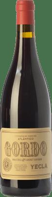 11,95 € Envoi gratuit | Vin rouge Vinos del Atlántico Gordo Joven D.O. Yecla Région de Murcie Espagne Cabernet Sauvignon, Monastrell Bouteille 75 cl