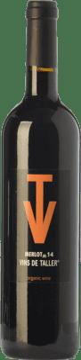 8,95 € Free Shipping | Red wine Vins de Taller JR Joven Spain Merlot Bottle 75 cl