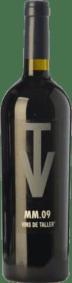 15,95 € Free Shipping | Red wine Vins de Taller MM Crianza Spain Merlot, Marcelan Bottle 75 cl