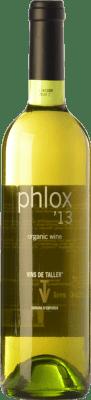 11,95 € Free Shipping | White wine Vins de Taller Phlox Spain Roussanne, Viognier, Chardonnay, Marsanne Bottle 75 cl