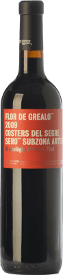 22,95 € Free Shipping   Red wine Vinya L'Hereu Flor de Grealó Crianza D.O. Costers del Segre Catalonia Spain Merlot, Syrah, Cabernet Sauvignon Bottle 75 cl