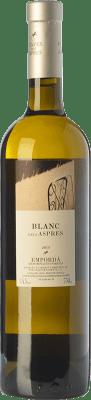 15,95 € Envío gratis | Vino blanco Aspres Blanc Criança Crianza D.O. Empordà Cataluña España Garnacha Blanca Botella 75 cl