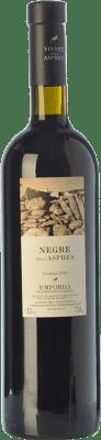 15,95 € Envoi gratuit | Vin rouge Aspres Negre Crianza D.O. Empordà Catalogne Espagne Grenache, Cabernet Sauvignon, Carignan Bouteille 75 cl