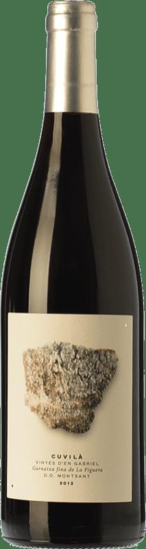 19,95 € Envoi gratuit | Vin rouge Vinyes d'en Gabriel Cuvilà Crianza D.O. Montsant Catalogne Espagne Grenache Bouteille 75 cl