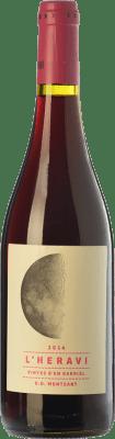 6,95 € Envoi gratuit | Vin rouge Vinyes d'en Gabriel L'Heravi Joven D.O. Montsant Catalogne Espagne Syrah, Grenache, Carignan Bouteille 75 cl