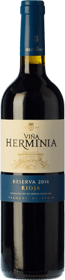 11,95 € Free Shipping | Red wine Viña Herminia Reserva 2011 D.O.Ca. Rioja The Rioja Spain Tempranillo, Grenache, Graciano Bottle 75 cl