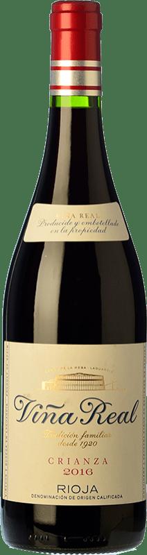 7,95 € Envoi gratuit   Vin rouge Viña Real Crianza D.O.Ca. Rioja La Rioja Espagne Tempranillo, Grenache, Graciano, Mazuelo Bouteille 75 cl