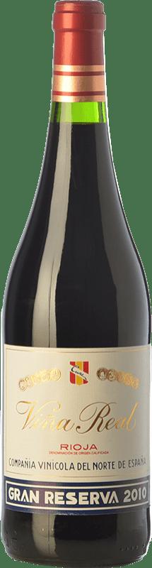 29,95 € Envoi gratuit   Vin rouge Viña Real Gran Reserva D.O.Ca. Rioja La Rioja Espagne Tempranillo, Grenache, Graciano, Mazuelo Bouteille 75 cl