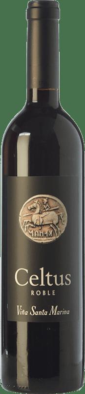6,95 € Free Shipping | Red wine Santa Marina Celtus Joven I.G.P. Vino de la Tierra de Extremadura Estremadura Spain Tempranillo Bottle 75 cl