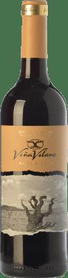 8,95 € Envío gratis | Vino tinto Viña Vilano Roble D.O. Ribera del Duero Castilla y León España Tempranillo Botella 75 cl