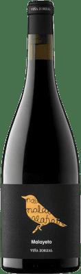 15,95 € Envío gratis | Vino tinto Viña Zorzal Malayeto Joven D.O. Navarra Navarra España Garnacha Botella 75 cl