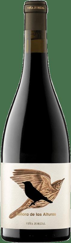 17,95 € Envío gratis | Vino tinto Viña Zorzal Señora de las Alturas Crianza D.O. Navarra Navarra España Tempranillo, Garnacha, Graciano Botella 75 cl
