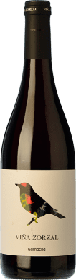 7,95 € Free Shipping | Red wine Viña Zorzal Joven D.O. Navarra Navarre Spain Grenache Bottle 75 cl
