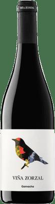 7,95 € Envío gratis | Vino tinto Viña Zorzal Joven D.O. Navarra Navarra España Garnacha Botella 75 cl