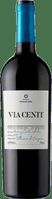 21,95 € Free Shipping | Red wine Viñas del Cénit Via Crianza D.O. Tierra del Vino de Zamora Castilla y León Spain Tempranillo Bottle 75 cl