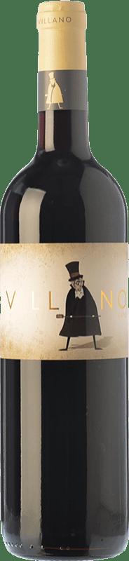 7,95 € Free Shipping | Red wine Viñas del Cénit Villano Roble I.G.P. Vino de la Tierra de Castilla y León Castilla y León Spain Tempranillo Bottle 75 cl