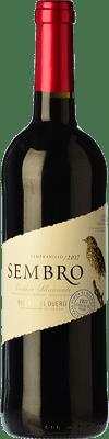 7,95 € Free Shipping | Red wine Viñas del Jaro Sembro Joven D.O. Ribera del Duero Castilla y León Spain Tempranillo Bottle 75 cl
