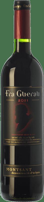 7,95 € Free Shipping | Red wine Viñas del Montsant Fra Guerau Crianza D.O. Montsant Catalonia Spain Tempranillo, Merlot, Syrah, Grenache, Cabernet Sauvignon, Torrontés Bottle 75 cl