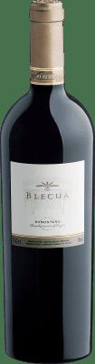 87,95 € Kostenloser Versand | Rotwein Viñas del Vero Blecua Crianza 2008 D.O. Somontano Aragón Spanien Tempranillo, Merlot, Syrah, Cabernet Sauvignon Flasche 75 cl