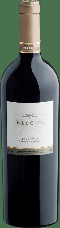 87,95 € Free Shipping   Red wine Viñas del Vero Blecua Crianza 2008 D.O. Somontano Aragon Spain Tempranillo, Merlot, Syrah, Cabernet Sauvignon Bottle 75 cl