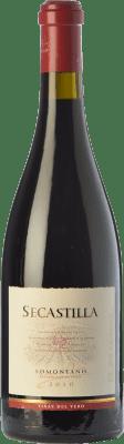 24,95 € Free Shipping | Red wine Viñas del Vero Secastilla Joven D.O. Somontano Aragon Spain Grenache Bottle 75 cl