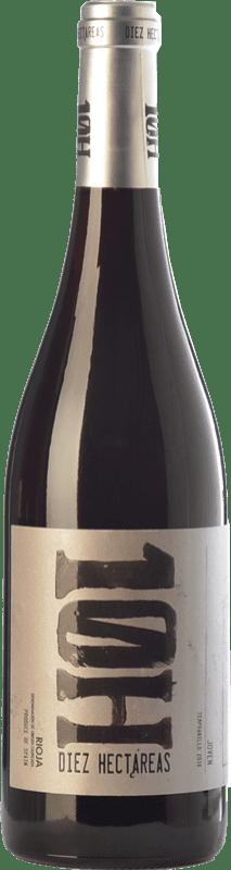 5,95 € Envoi gratuit | Vin rouge Viñedos de Altura 10H Joven D.O.Ca. Rioja La Rioja Espagne Tempranillo Bouteille 75 cl