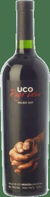 32,95 € Envoi gratuit | Vin rouge Valle de Uco Pago Lobo Crianza I.G. Valle de Uco Uco Valley Argentine Malbec Bouteille 75 cl