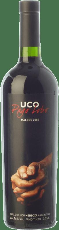 32,95 € Envío gratis   Vino tinto Valle de Uco Pago Lobo Crianza I.G. Valle de Uco Valle de Uco Argentina Malbec Botella 75 cl