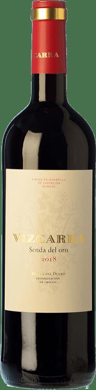 8,95 € Envoi gratuit | Vin rouge Vizcarra Senda del Oro Roble D.O. Ribera del Duero Castille et Leon Espagne Tempranillo Bouteille 75 cl