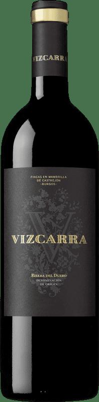 13,95 € Envoi gratuit | Vin rouge Vizcarra Crianza D.O. Ribera del Duero Castille et Leon Espagne Tempranillo Bouteille 75 cl