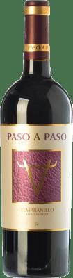 5,95 € Kostenloser Versand | Rotwein Volver Paso a Paso Joven I.G.P. Vino de la Tierra de Castilla Kastilien-La Mancha Spanien Tempranillo Flasche 75 cl