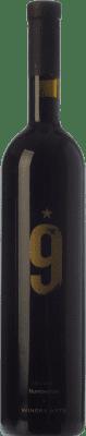 24,95 € Envío gratis | Vino tinto Winery Arts Exclusive Number Nine Crianza I.G.P. Vino de la Tierra Ribera del Queiles Aragón España Tempranillo, Merlot, Cabernet Sauvignon Botella 75 cl