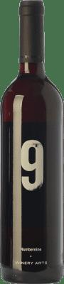 12,95 € Envío gratis | Vino tinto Winery Arts Número Nueve Crianza I.G.P. Vino de la Tierra Ribera del Queiles Aragón España Tempranillo, Cabernet Franc Botella 75 cl