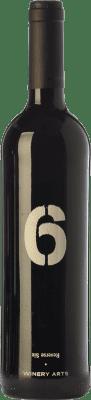 9,95 € Envío gratis | Vino tinto Winery Arts Seis al Revés Crianza España Tempranillo, Merlot Botella 75 cl