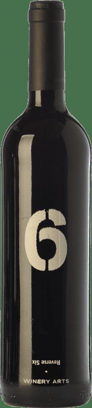 7,95 € Free Shipping | Red wine Winery Arts Seis al Revés Crianza Spain Tempranillo, Merlot Bottle 75 cl