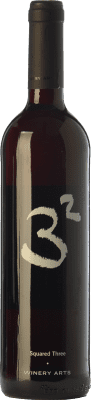 8,95 € Free Shipping | Red wine Winery Arts Tres al Cuadrado Crianza Spain Tempranillo, Merlot, Grenache Bottle 75 cl