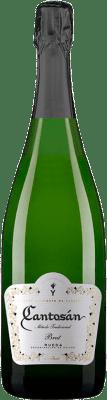 7,95 € Envío gratis | Espumoso blanco Yllera Cantosán Brut Reserva D.O. Rueda Castilla y León España Verdejo Botella 75 cl