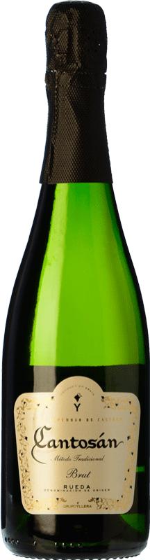 7,95 € Free Shipping | White sparkling Yllera Cantosán Brut Reserva D.O. Rueda Castilla y León Spain Verdejo Bottle 75 cl