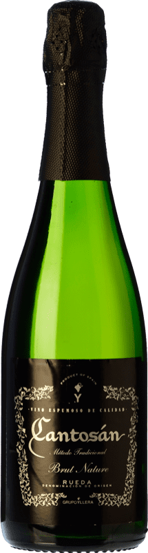 9,95 € Free Shipping | White sparkling Yllera Cantosán Brut Nature D.O. Rueda Castilla y León Spain Verdejo Bottle 75 cl. | Thousands of wine lovers trust us to get the best price guarantee, free shipping always and hassle-free shopping and returns.