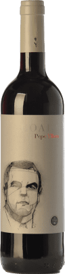 8,95 € Envío gratis | Vino tinto Yllera Boada Pepe Roble D.O. Ribera del Duero Castilla y León España Tempranillo Botella 75 cl