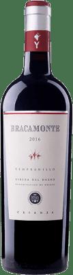 17,95 € Envoi gratuit | Vin rouge Yllera Bracamonte Crianza D.O. Ribera del Duero Castille et Leon Espagne Tempranillo Bouteille 75 cl