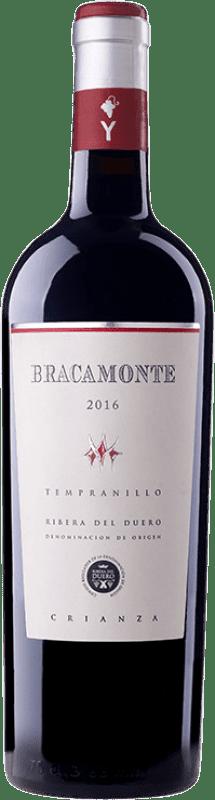 12,95 € Envoi gratuit | Vin rouge Yllera Bracamonte Crianza D.O. Ribera del Duero Castille et Leon Espagne Tempranillo Bouteille 75 cl