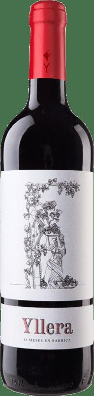 5,95 € Envoi gratuit | Vin rouge Yllera Crianza I.G.P. Vino de la Tierra de Castilla y León Castille et Leon Espagne Tempranillo Bouteille 75 cl