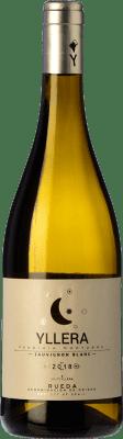6,95 € Envío gratis | Vino blanco Yllera D.O. Rueda Castilla y León España Sauvignon Blanca Botella 75 cl