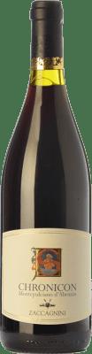 12,95 € Free Shipping | Red wine Zaccagnini Chronicon D.O.C. Montepulciano d'Abruzzo Abruzzo Italy Montepulciano Bottle 75 cl
