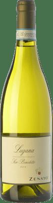 11,95 € Envío gratis | Vino blanco Zenato San Benedetto D.O.C. Lugana Lombardia Italia Trebbiano di Lugana Botella 75 cl