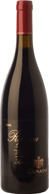18,95 € Free Shipping | Red wine Zenato Superiore D.O.C. Valpolicella Ripasso Veneto Italy Corvina, Rondinella, Oseleta Bottle 75 cl