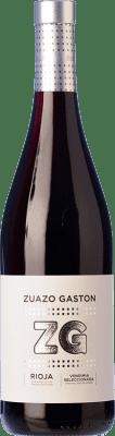 6,95 € Kostenloser Versand | Rotwein Zuazo Gaston Vendimia Seleccionada Joven D.O.Ca. Rioja La Rioja Spanien Tempranillo, Graciano Flasche 75 cl