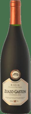 9,95 € Free Shipping | Red wine Zuazo Gaston Crianza D.O.Ca. Rioja The Rioja Spain Tempranillo Bottle 75 cl